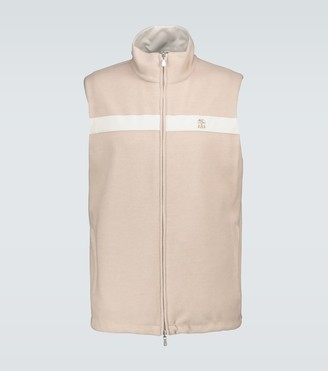Brunello Cucinelli K-way reversible gilet