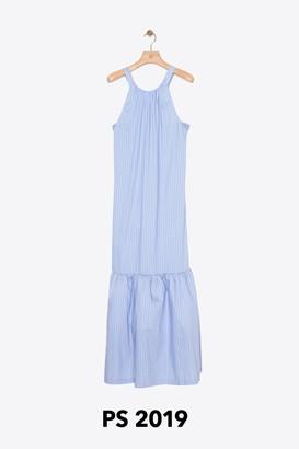3.1 Phillip Lim Striped Tented Maxi Dress