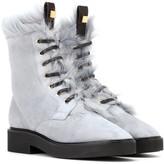 Stuart Weitzman Jissika suede ankle boots