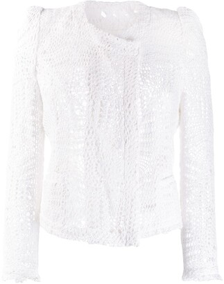 IRO Cropped Lace Jacket