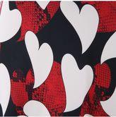 Moschino Heart Printed Skirt