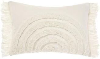 Linen House Daybreak Cushion White Cushion-40x60cm
