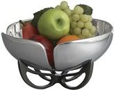 """Nambe Petal 11"""" Fruit Bowl"""