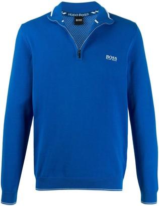 BOSS Half Zip Pullover