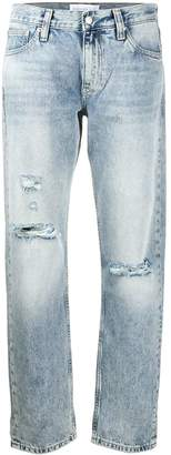 Calvin Klein Jeans mid-rise straight jeans