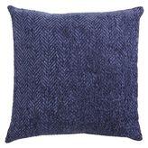 Pier 1 Imports Herringbone Chenille Indigo Pillow