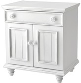 Household Essentials John Boyd Designs Notting Hill Collection 1 Drawer 2 Door Night Stand