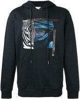 Les Benjamins printed hoodie - men - Cotton - L