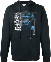 Les Benjamins printed hoodie - men - Cotton - XL