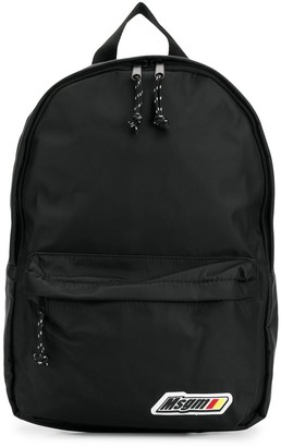 MSGM Logo-Patch Backpack