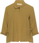 Isolde Roth Plus Size Cotton linen blazer