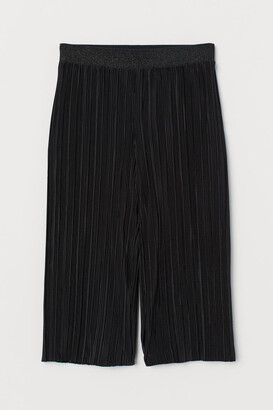 H&M Pleated Culottes - Black