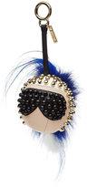 Fendi Punkarlito Key Chain with Fur
