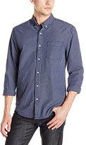 Lucky Brand Men's Bay 1 Pocket Shirt in Indigo Natural