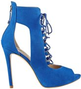 GUESS Adelise Lace-Up Heels