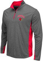 Colosseum Men's Louisville Cardinals Ridge Runner Quarter-Zip Pullover