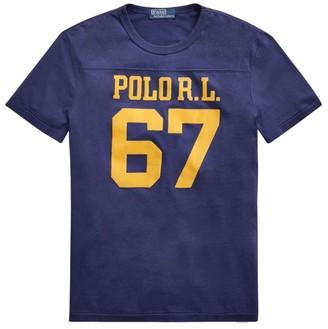 Polo Ralph Lauren Saranac Custom Slim-Fit Varsity T-Shirt