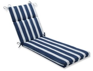 Highland Dunes Haylee Indoor/Outdoor Chaise Lounge Cushion Fabric: Zaffre