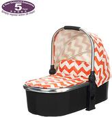 O Baby Obaby Chase Carrycot - ZigZag Orange