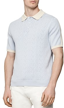 Reiss Newton Colorblocked Regular Fit Polo Shirt