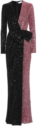 Rebecca Vallance Sequined gown