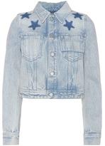 Givenchy Veste Raccourcie En Jean