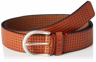 HKT by Hackett London Men's Hkt Punched Belt