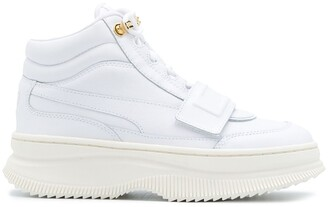 Puma Logo Touch-Strap Sneakers