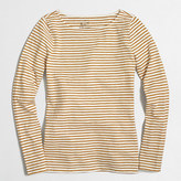 J.Crew Factory Metallic striped artist T-shirt