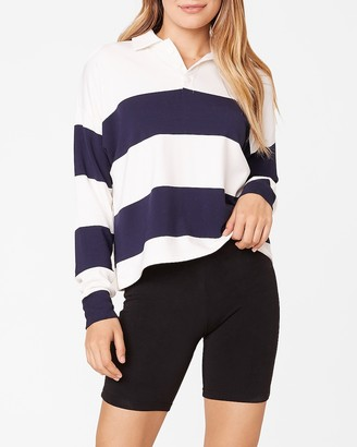 Express Scrum As You Are Long Sleeve Polo