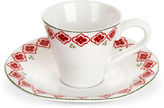 Portmeirion 2-Pc Candy Cane Espresso Set