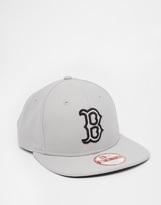 New Era 9fifty Boston Red Sox Snapback Cap - Grey