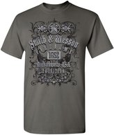 Smith & Wesson Men's Firearms Tradition T-Shirt (Charcoal - 3XL)