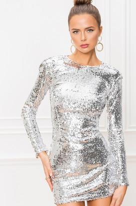 superdown Shayla Sequin Dress
