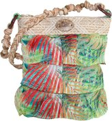 Capelli of New York Women's Tiered Ruffle Crossbody