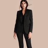 Burberry Stretch Wool Tuxedo Jacket