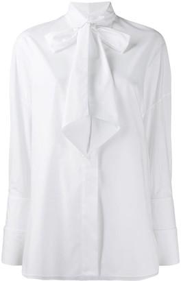 Alexandre Vauthier Tie Bow Shirt