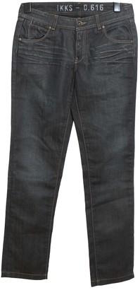 Ikks Navy Cotton - elasthane Jeans for Women