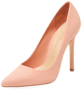 Schutz Gilberta Leather Pointed-Toe Pump