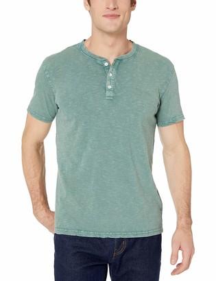 Lucky Brand Men's Sugar Magic WASH Henley Shirt