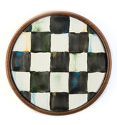 Mackenzie Childs Courtly Check Coasters, Set of 4