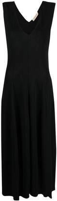 Gentry Portofino V-neck midi dress