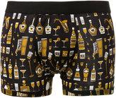 Dolce & Gabbana Bottles Jazz print boxers - men - Cotton - 6