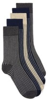 Topman Men's Assorted 5-Pack Stripe Socks