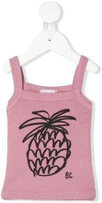 Bobo Choses Pineapple print top