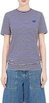 Acne Studios Women's Napa Emoji Striped Cotton T-Shirt