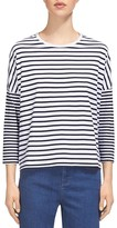Whistles Mixed Stripe Top