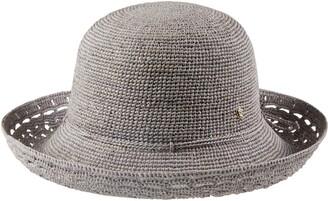 Helen Kaminski Martine Packable Upturn Raffia Hat