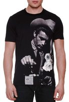 Dolce & Gabbana James Dean Photo-Print T-Shirt, Black/Gray