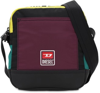 Diesel Multicolor Nylon Crossbody Bag